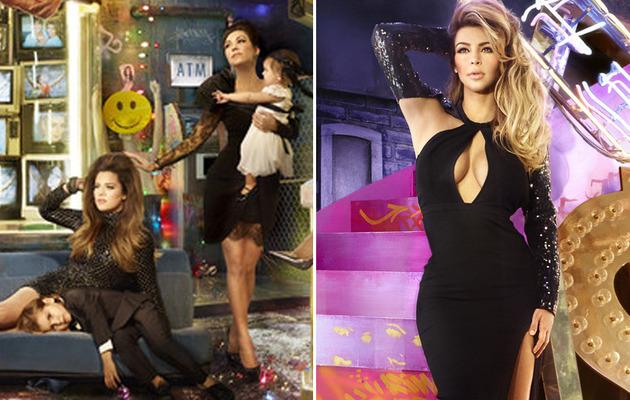The Kardashian Christmas Card is the Kraziest Yet!