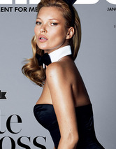 Kate Moss Poses Topless for Pla