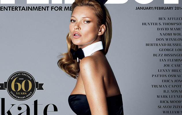 Kate Moss Poses Topless for Playboy's 60th Anniversary Issue!