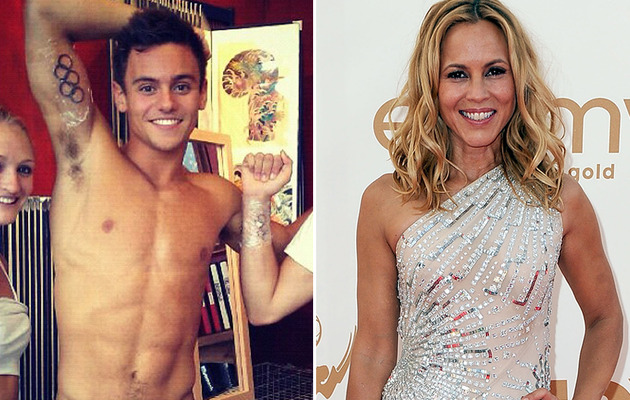 Maria Bello & Tom Daley Both Come Out