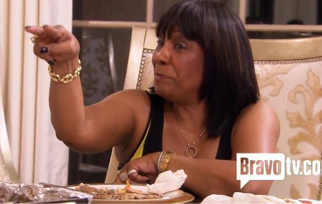 Video: Kandi Burruss' Mom Threatens Her Fiance!