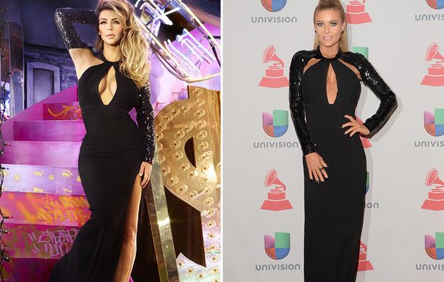 Dueling Dresses: Kim Kardashian vs. Carmen Electra!
