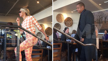 Jay Z -- MEATLESS Birthday Lunch ... with Beyonce & Anne Hathaway