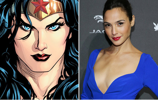 "Gal Gadot Cast as Wonder Woman in ""Man of Steel"" Sequel"