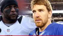 Ray Lewis -- CRUSHING Eli Manning in Jersey Sales ... Despite Being Retired