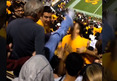 ASU Fan Brawl -- Old Man 'GOT DESTROYED' After Karate Kick