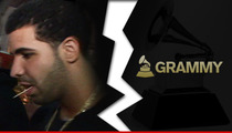 Drake -- Bails on Grammy Nomination Concert