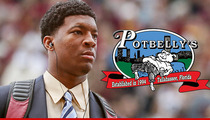 Jameis Winston -- Cops BLEW SHOT at Key Surveillance Footage