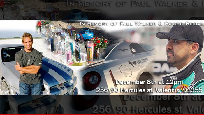 Paul Walker Death Huge Car Rally Planned As Tribute