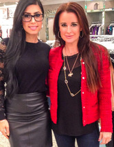 toofab Style Guide: Kyle Richards' Must-Have Holiday Party Loo
