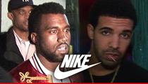Kanye West -- I DON'T HATE DRAKE ... Even Though I Hate Nike