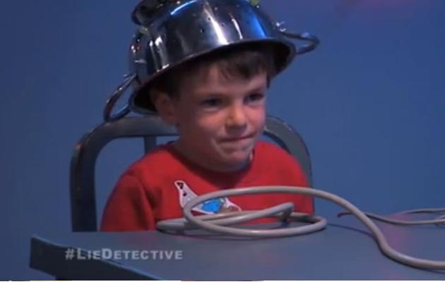 [VIDEO] Jimmy Kimmel Puts Kids Through Lie Detector Test!