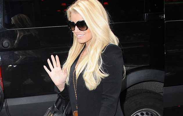 Jessica Simpson Steps Out in Thigh High Boots -- Looks Hot!