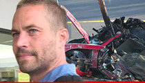Paul Walker Death Scene -- Alleged Wreckage Thieves CHARGED with FELONY