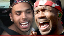 Chris Brown/Frank Ocean Brawl -- Cousin Says Frank's Ass Was About to Be Beaten