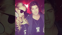 Paris Hilton -- Hangs w/ Ultimate Lohan Enemy ... THE FIRECROTCH GUY