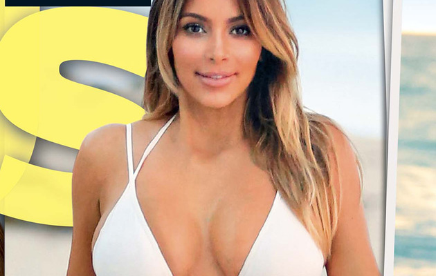Kim Kardashian Flaunts Incredible Bikini Bod After Giving Birth