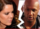 Khloe Kardashian Filing for Divorce From Lamar