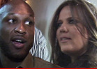 Lamar Odom to Khloe Kardashian -- No, I'm Leaving You!