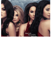 "Ashley Benson Calls Out ""Pretty Little Liars"" Poster for Pho"