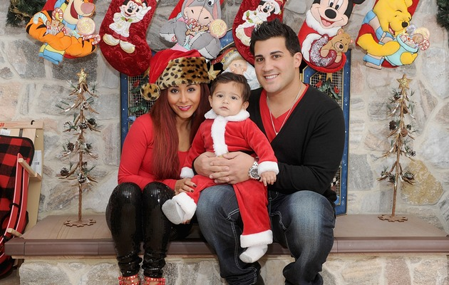 Snooki's Son Lorenzo Is An Adorable Santa -- See the Cute Christmas Pic!