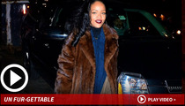 Rihanna -- I Prefer My Coats Animal Style