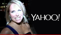 Katie Couric -- I May End Up Taking A Big Pay Cut But Hey, It's a Part-Time Job!