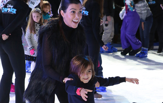 Kourtney Kardashian Takes Son Mason to Disney On Ice -- See the Cute Pics!