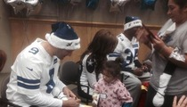 Tony Romo -- What Interceptions? I'm Busy Visiting Sick Kids