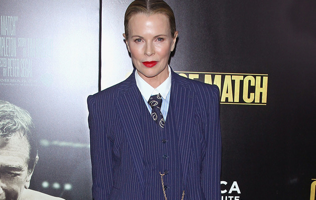 Kim Basinger, 60, Stuns in Menswear During Rare Red Carpet Appearance