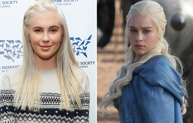 "Ireland Baldwin's ""Game of Thrones"" Makeover! -- See Her New 'Do!"