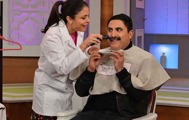"Reza from ""Shahs of Sunset"" Shaves off His Trademark Mustache!"