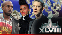 Eminem -- I'll Rap At Super Bowl Party For $2 MIL!