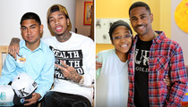Tyga -- Cyber-Offensive to Find Kidney for Sick Kid