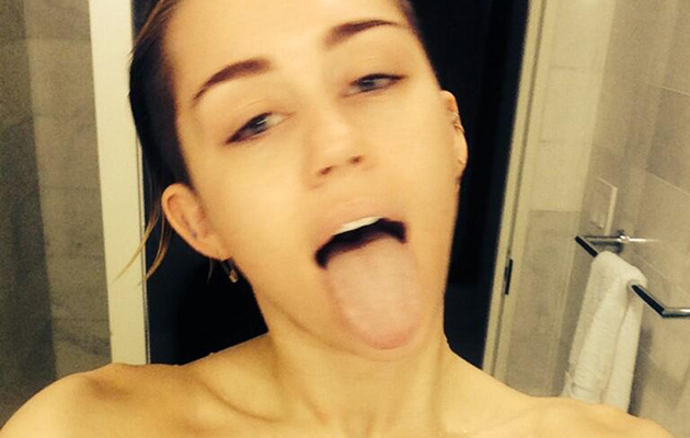 Miley Cyrus Shares Sexy(?) Shower Selfie -- See the Pic!