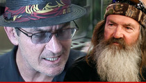Charlie Sheen to Phil Robertson -- Apologize ... Or Face a 'Masheen Style Media Beatdown'