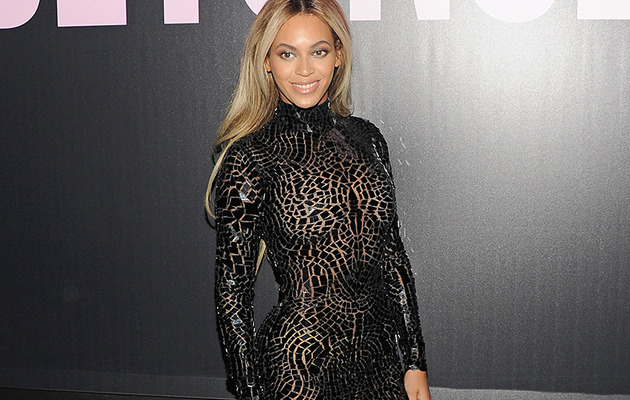 Beyonce Sizzles In Revealing, Skin-Tight Dress