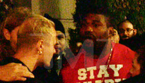 Rampage Jackson THREATENS Clubgoer -- I WILL BREAK YOU