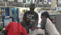 Chad Johnson -- Wears 'F**king' Shirt .. TO KIDS TOY STORE!!!