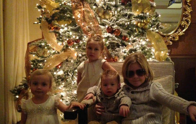 Tori Spelling Celebrates Christmas Amid Cheating Reports