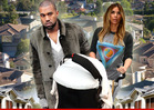 Kim Kardashian, Kanye West -- Win Nightmare Neighbor Award!