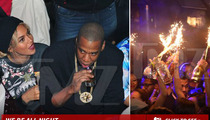 Beyonce and Jay Z -- Drunk in Love With TONS of Booze