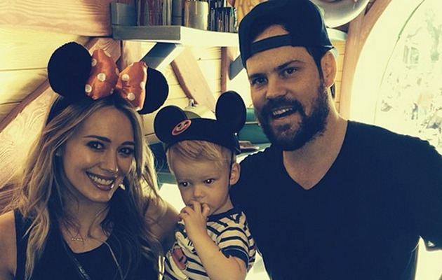 Hilary Duff Takes Son Luca to Disneyland for the First Time!