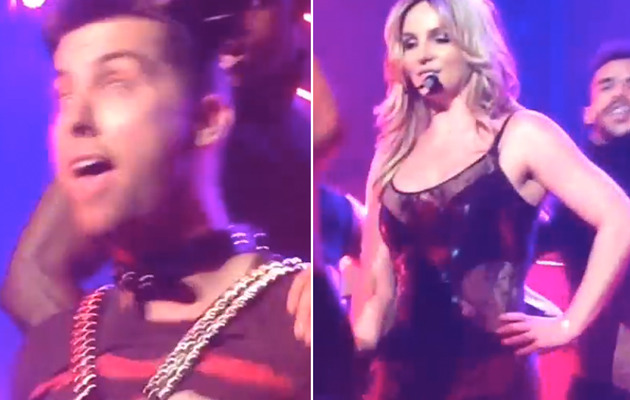 Video: Britney Spears Makes Lance Bass Her S&M Slave