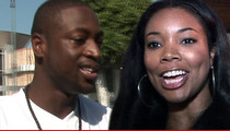 Dwyane Wade & Gabrielle Union -- Evidence They Were NOT on Break When Baby Was Conceived