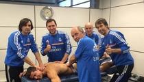 Cristiano Ronaldo -- It Takes 5 Strong Men to Massage My Body