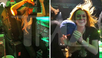 Lindsay Lohan -- Suck It, Paris ... I Can Rock A DJ Booth Too!