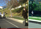Justin Bieber & Selena Gomez -- The Couple that Segways Together ...