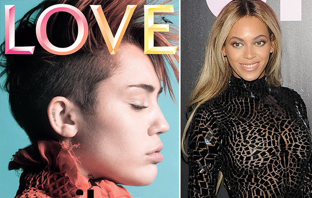 "Miley Cyrus Speaks Out About ""Made Up"" Beyonce Quotes!"