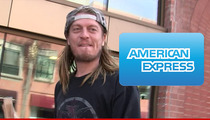 Wes Scantlin Sued -- American Express F*****g Hates Me!